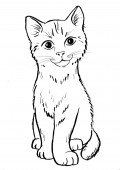 Kot - rysunek