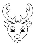 Dibujo de Reno joven