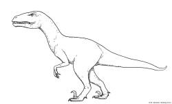 Velociraptor dibujo